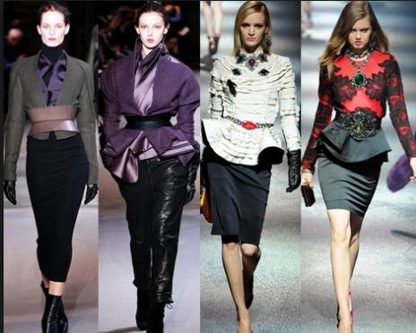 Модные пояса и ремни сезона осень-зима